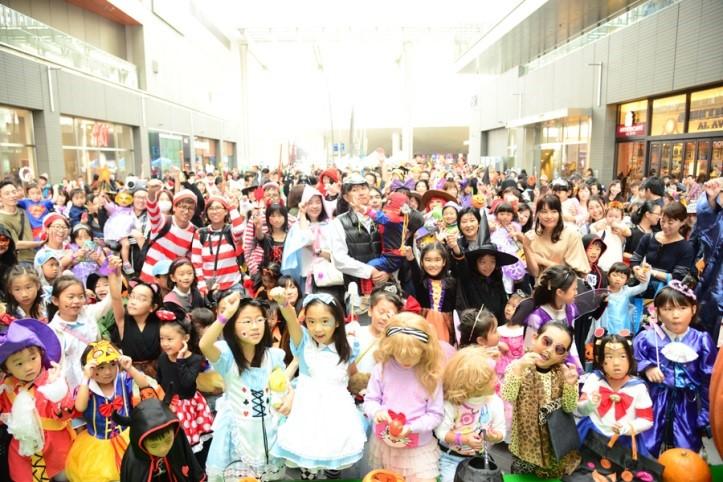 仮装パレード(昨年実施の様子)