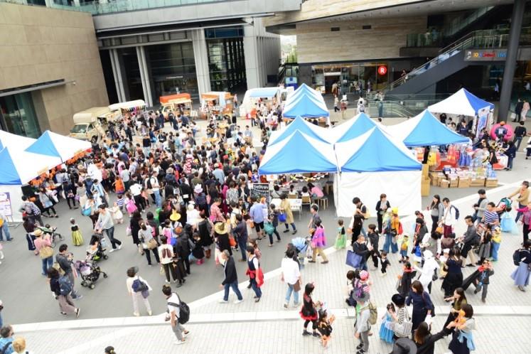 中央広場(昨年実施の様子)